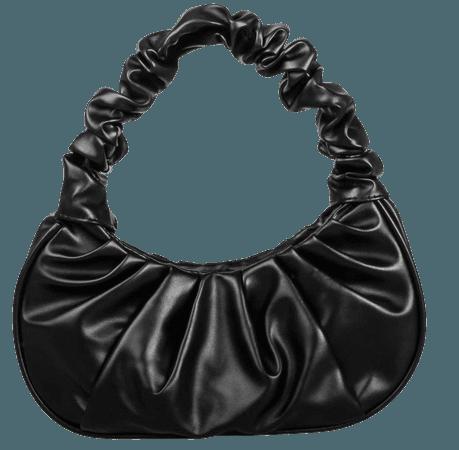 Black Friday 2020   Ruched Baguette Bag   SHEIN USA