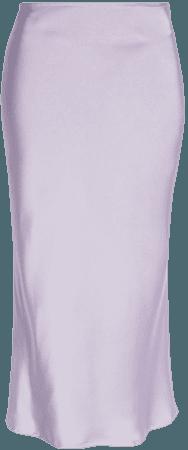 Amy Lynn Bias Cut Satin Slip Skirt | Nordstrom