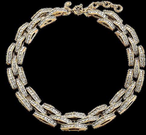 J.Crew: Chevron Chain Statement Necklace For Women