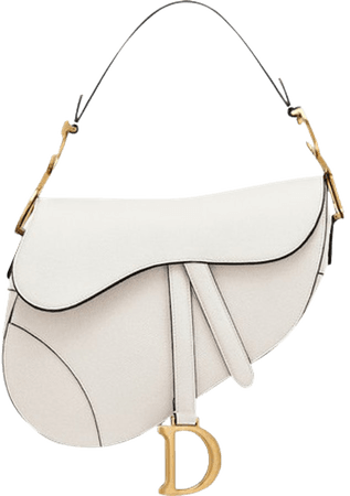Dior Saddle Bag Off-White