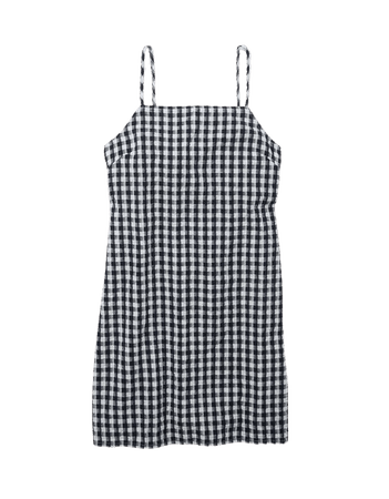 AE Gingham Mini Dress
