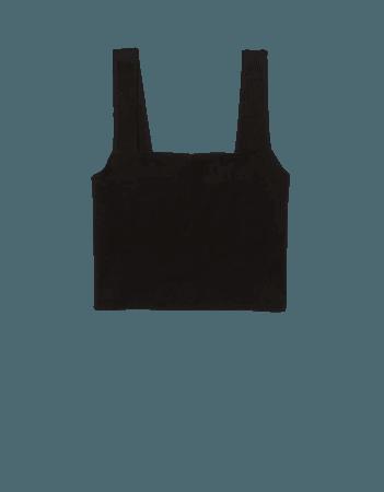 AE Wide-Strap Crop Cami