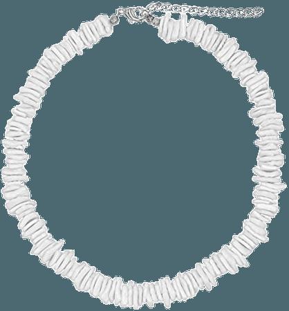 "Frogsac - White Puka Shell Neckace - Hawaiian Style Clam Chip Surfer Necklace for Men and Women - Trendy Summer Shell Necklace Choker for Men and Women - Seashell Beaded VSCO Beach Choker (14"") - Walmart.com - Walmart.com"