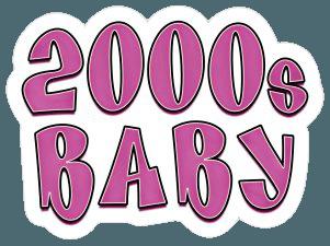 born in the 2000s sticker
