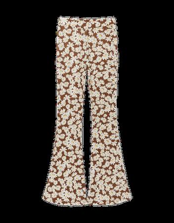 Floral top and pants set - New - Woman   Bershka