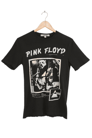 Junk Food Pink Floyd - Black T-Shirt - Graphic Tee - Cotton Tee - Lulus