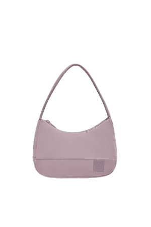 Fabric shoulder bag - pull&bear