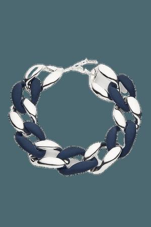 Silver Coloured Statement Necklace | Karen Millen