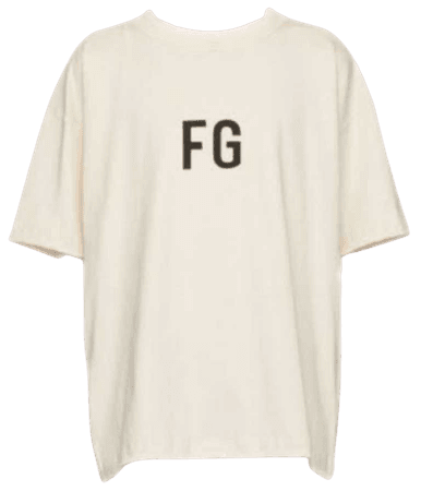 Fear of God FG t shirt SUGA