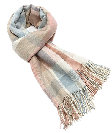Women's Long Plaid Blanket Chunky Oversized Winter/Fall Warm Scarf Big Tartan Scarves Wrap Shawl at Amazon Women's Clothing store