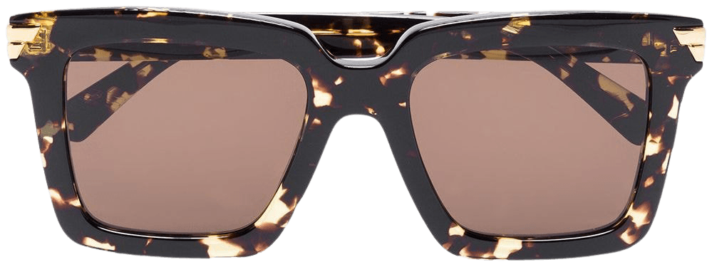 Bottega Veneta Eyewear square-frame Sunglasses - Farfetch