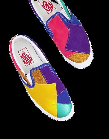 Vans Classic Slip-On sneakers in multi | ASOS