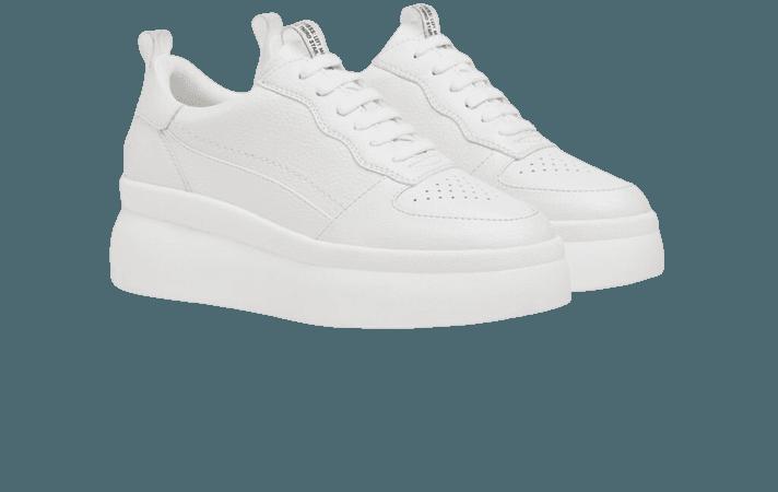 Embossed platform sneakers. - NEW - Woman | Bershka