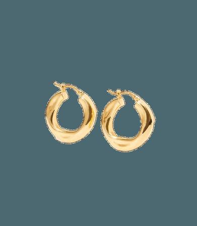 Modern Hoop Earrings | LOFT