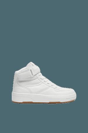 Retro high-top sneakers