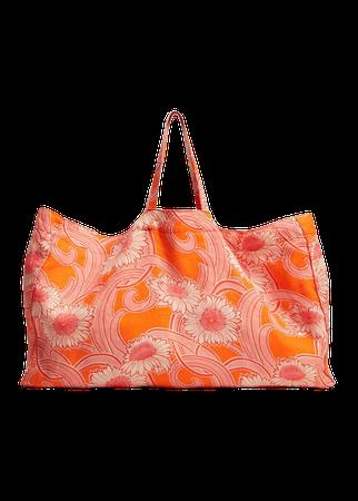 Linen maxi shopper bag - Women | Mango USA