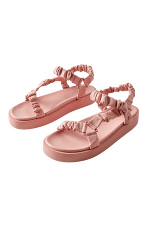 Circus By Sam Edelman Harlene Ruched Sandal | Urban Outfitters