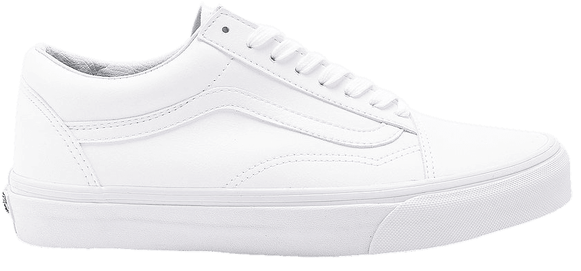Vans Old Skool in True White   REVOLVE