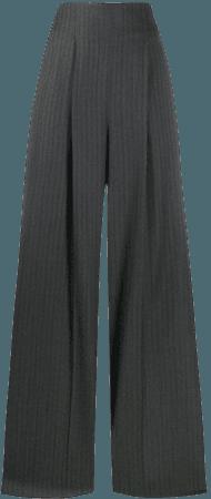 Salvatore Ferragamo, Striped wide-leg Trousers