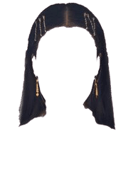 Black Hair PNG Clips
