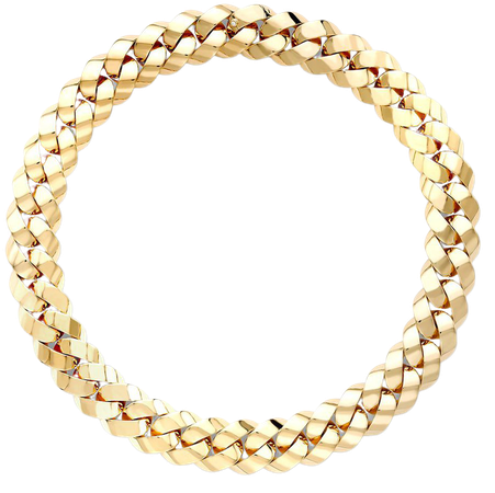 Pragnell 18kt Yellow Gold Cuba Chain Necklace - Farfetch