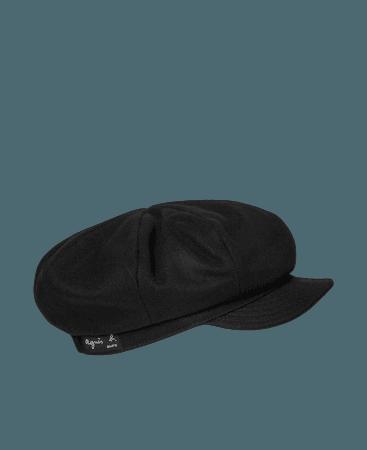 black wool Jah cap