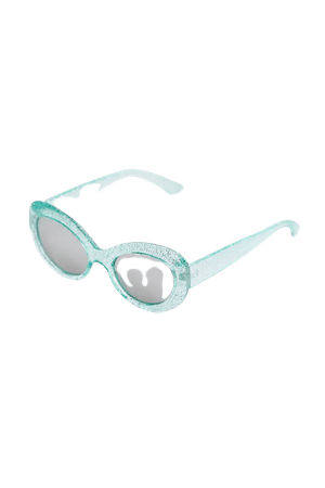 Cicely Glitter Cat-Eye Sunglasses | Urban Outfitters