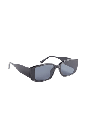 Adelaide Plastic Rectangle Sunglasses | Urban Outfitters