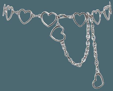 Heartless Chain Belt – Boogzel Apparel