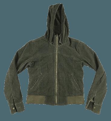 NECA ASO BELLA Swan Green Corduroy Hooded Jacket Large Coat Twilight New Moon - $100.00 | PicClick
