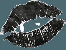 black drawing lips - Google Search