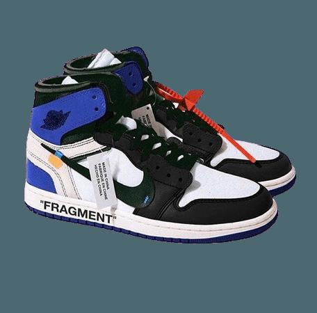 Off White x Air Jordan Retro 1 (Blue)