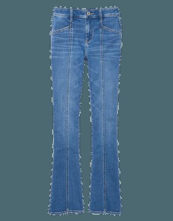 AE Stretch High-Waisted Skinny Kick Jean