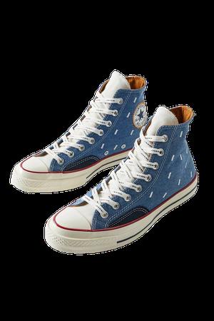 Converse Chuck 70 Indigo Boro High-Top Sneaker | Urban Outfitters