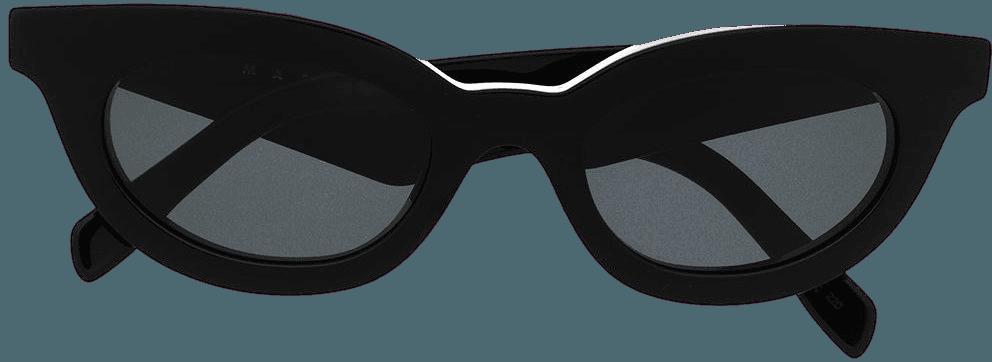 Shop black Marni Eyewear cat eye sunglasses with Express Delivery - Farfetch