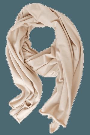 Beige Scarf - Oversized Scarf - Cashmere Blend Knit Scarf - Lulus