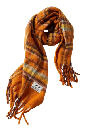 UO Plaid Scarf | Urban Outfitters