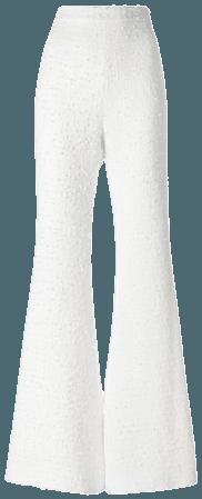 White Flared Dress Pants