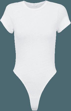 White T-Shirt Bodysuit