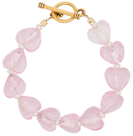 Shop Brinker & Eliza Forever Young Heart bracelet with Express Delivery - FARFETCH