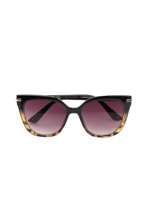 Brown Tortoise Sunglasses - Sunnies - Angular Sunglasses - Lulus
