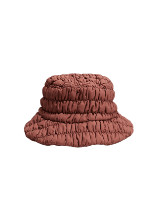 Pleated bucket hat - Women   Mango USA