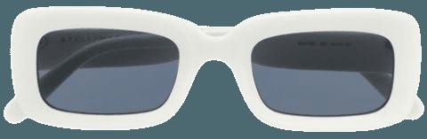 STELLA MCCARTNEY SC0198S 002 WHITE-WHITE-SMOKE