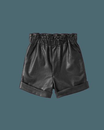 Women's Faux Leather Shorts | Women's Bottoms | Abercrombie.com