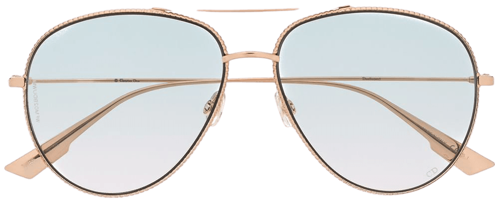 Dior Eyewear DiorSociety3 Aviator Sunglasses - Farfetch