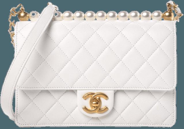white chanel bag - Buscar con Google