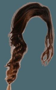 Brown Hair Side Braid