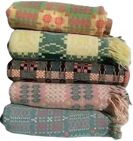 hand-sewn blankets