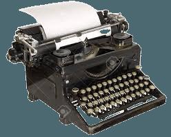 black typewriter - Google Search