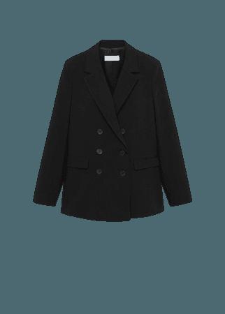 Structured suit blazer - Women | Mango United Kingdom